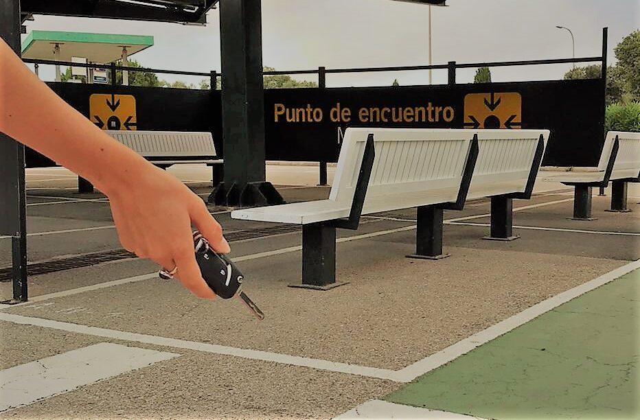 Punto de encuentro del aeropuerto de Menorca